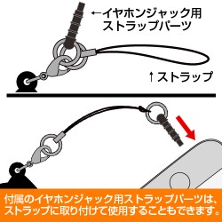 ラブライブ!/ラブライブ!サンシャイン!!/黒澤ルビィつままれストラップ MIRAI TICKET Ver.