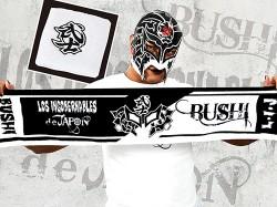 新日本プロレスリング/新日本プロレスリング/BUSHI リストバンド付きマフラータオル