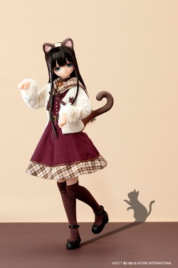 AZONE/えっくす☆きゅーと/えっくす☆きゅーと ふぁみりー ~meow×meow a・la・mode~ シャム猫 / みあ POD013-MSM