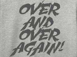 新日本プロレスリング/新日本プロレスリング/棚橋弘至「OVER AND OVER AGAIN」パーカー
