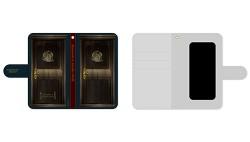 異世界食堂/異世界食堂/異世界食堂 洋食のねこや扉型スマホケース