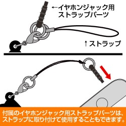 銀魂/銀魂/高杉晋助アクリルつままれストラップ