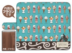 銀魂/銀魂/銀さんと糖分 手帳型スマホケース158