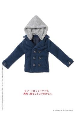 AZONE/Pureneemo Original Costume/ALB192【1/6サイズドール用】PNXS 男の子フード付きPコート