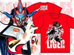 新日本プロレスリング/新日本プロレスリング/獣神サンダー・ライガー「THUNDERBOLT」Tシャツ