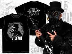 新日本プロレスリング/新日本プロレスリング/マーティー・スカル「LONG LIVE THE VILLAIN」Tシャツ