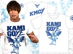 新日本プロレスリング/新日本プロレスリング/飯伏幸太「KAMIGOYE」Tシャツ
