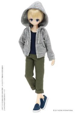 AZONE/Pureneemo Original Costume/POC437【1/6サイズドール用】PNS 男の子コットンパーカー