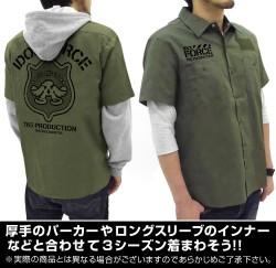 THE IDOLM@STER/アイドルマスターミリオンライブ!/第765部隊:アイドルフォース ワッペンベースワークシャツ