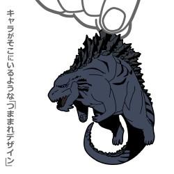 ゴジラ/GODZILLA 怪獣惑星/ゴジラ つままれストラップ GODZILLA 怪獣惑星Ver.