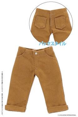 AZONE/ピコニーモコスチューム/PIC205【1/12サイズドール用】1/12 ロールアップクロップドパンツ