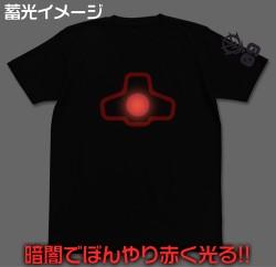 ガンダム/機動戦士ガンダム/ドムモノアイ蓄光Tシャツ