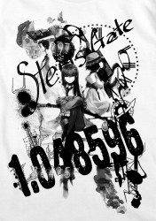 STEINS;GATE/STEINS;GATE/シュタインズ・ゲートコラージュTシャツ