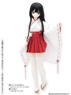 AZONE/50 Collection/FAR083【50cmドール用】50ミニ丈巫女服セット