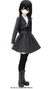 AZONE/50 Collection/FAR092【50cmドール用】BlackRavenClothing コルネイユ ミドルブーツ