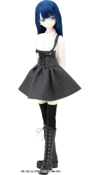 AZONE/50 Collection/FAR091【50cmドール用】BlackRavenClothing コルネイユ ロングブーツ