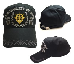 ガンダム/機動戦士ガンダム/ジオン刺繍アポロキャップ