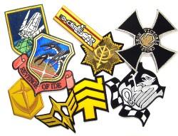 ガンダム/機動戦士ガンダム/MS用階級章ワッペン