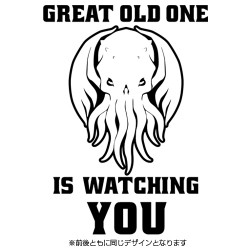 ミスカトニック大学購買部/ミスカトニック大学購買部/GREAT OLD ONE IS WATCHING YOU Tシャツ