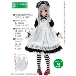 AZONE/Pureneemo Original Costume/AKT083【1/6サイズドール用】ラウンドトゥストラップシューズ