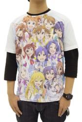 THE IDOLM@STER/THE IDOLM@STER/アイドルマスターシャイニーフェスタフルグラフィックTシャツ