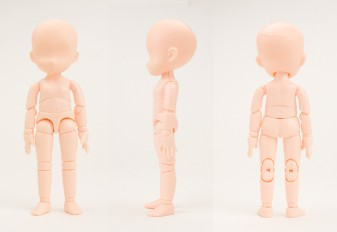 オビツ製作所/Obitsu Body/11BD-D01N-G 11cmオビツボディ マグネット付 ナチュラル