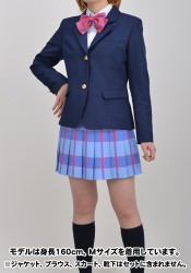 ラブライブ!/ラブライブ!/国立音ノ木坂学院 女子制服 リボン 1年生(青)
