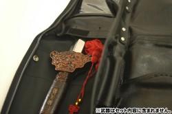 メーカーオリジナル/COSPATIOセレクト商品/合皮製居合刀袋(二本用)