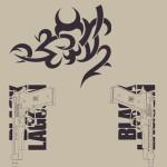 ブラック・ラグーン/ブラック・ラグーン/トゥーハンドTシャツ