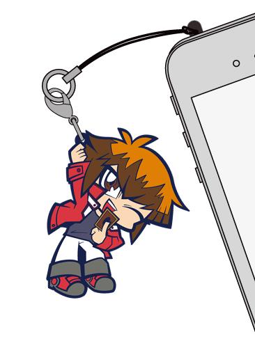 遊☆戯☆王/遊☆戯☆王デュエルモンスターズGX/遊城十代つままれストラップ