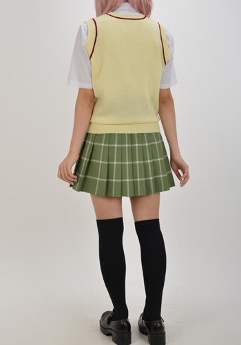 ToLOVEる/To LOVEる-とらぶる-ダークネス/彩南高校女子制服 ニットベスト&リボンセット