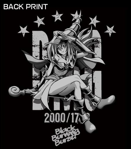 遊☆戯☆王/遊☆戯☆王デュエルモンスターズ/ブラック・マジシャン・ガールワークシャツ