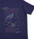 コブラと月夜のドライブTシャツ