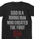 BORING MAN Tシャツ