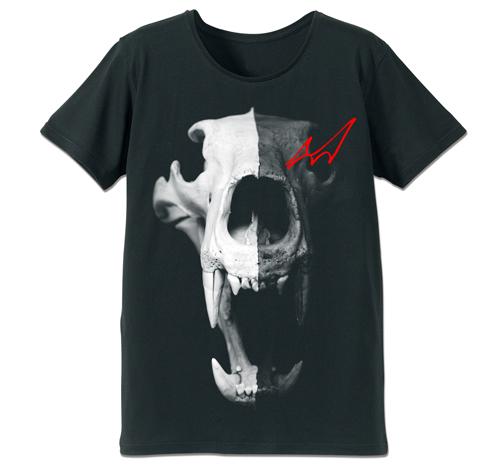 ダンガンロンパ/ダンガンロンパ1・2/モノクマスカルTシャツ