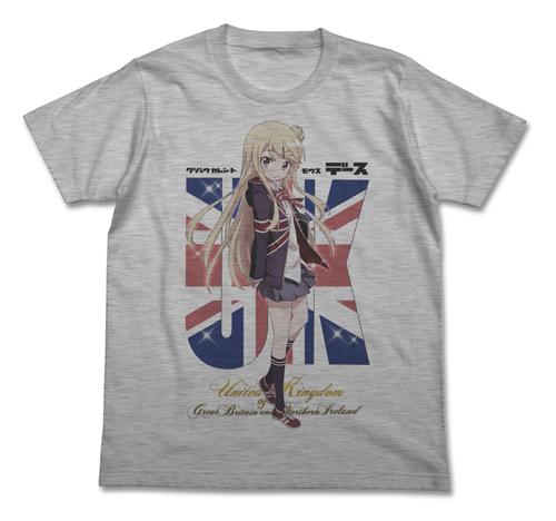 きんいろモザイク/きんいろモザイク/九条カレンフルカラーTシャツ