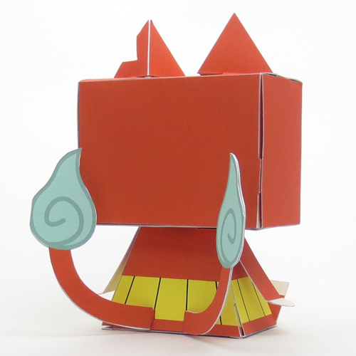 妖怪ウォッチ/妖怪ウォッチ/グラフィグ336 ニャンダフル!ジバニャンフィギュア