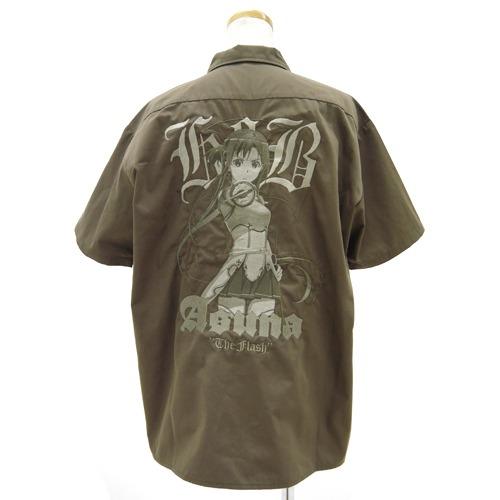 ソードアート・オンライン/ソードアート・オンライン/閃光のアスナ刺繍ワークシャツ セピアトーンver.