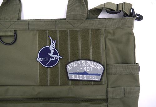 蒼き鋼のアルペジオ/蒼き鋼のアルペジオ -アルス・ノヴァ-/イ-401ウォーターライン 脱着式ワッペン