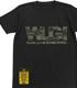 WUG!迷彩ロゴTシャツ