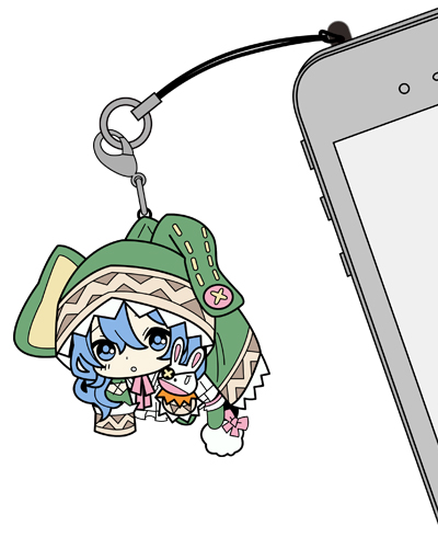デート・ア・ライブ/デート・ア・ライブII/四糸乃つままれストラップ