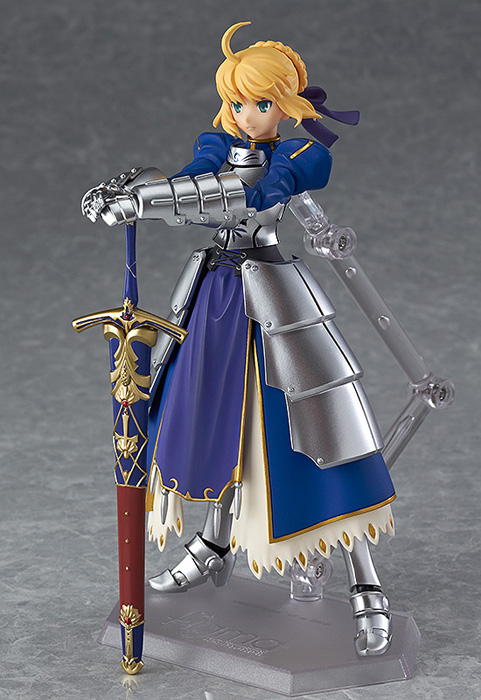Fate/Fate/stay night/ABS&PVC塗装済み可動フィギュア figma セイバー 2.0【再販】