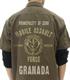 ガンダム シリーズ/機動戦士ガンダム/ジオン突撃機動軍ワッペンベースワークシャツ