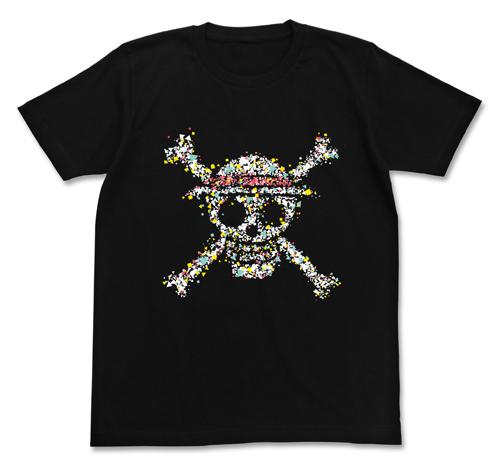 ONE PIECE/ワンピース/麦わらドクログラフィックTシャツ