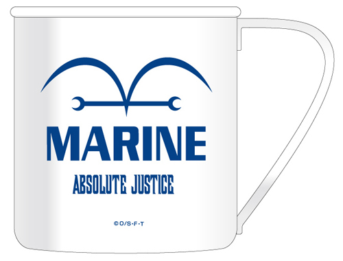 ONE PIECE/ワンピース/海軍ステンレスマグカップ
