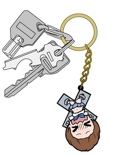 キルラキル/キルラキル/満艦飾マコ 逆さ吊りverつままれキーホルダー