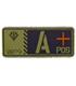 ジオン公国軍血液型PVCパッチ/A+