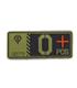 ジオン公国軍血液型PVCパッチ/O+