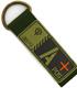 ジオン公国軍血液型PVCキーホルダー/A+