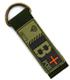 ジオン公国軍血液型PVCキーホルダー/B+